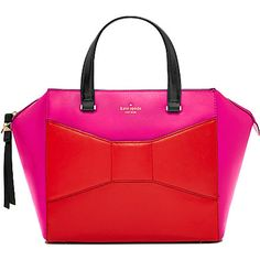 KATE SPADE 2 Park Avenue Beau leather tote (Snap dragon/maras