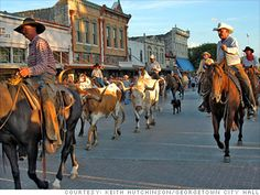 100 best places to live and launch. Georgetown, Texas