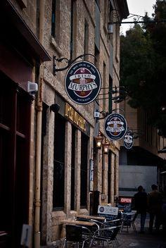 Irish Murphy's Salamanca Market in Hobart, Tasmania