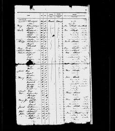 Valentine Neihart - immigration record