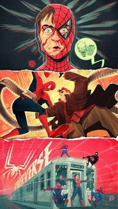 Spiderman Sketches, Spiderman Art, Marvel Films, Marvel Art, Spider Man Dimensions, Avengers Memes, Comic Games, Art Reference Poses, Spider Verse