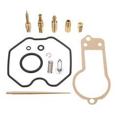Carburador de carburador reconstruye el kit de reparación del sello Jet para Honda XR250R 1986-1995
