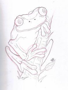 wood burning pattern of Tree frog. Wood Burning Stencils, Wood Burning Crafts, Wood Burning Art, Pyrography Patterns, Wood Carving Patterns, Wood Patterns, Frog Drawing, Drawing Sketches, Tree Frogs