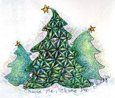 christmas zentangle pictures | Visit leeanniszentangleiing.weebly.com
