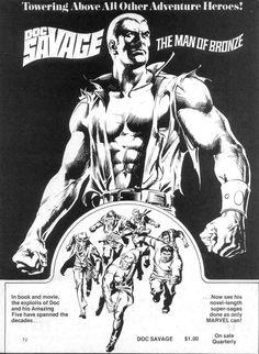Doc Savage, Marvel Magazine
