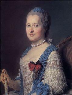 Marie-Joseph de Saxe, Dauphine de France (1731-1767), by Maurice Quentin de La Tour