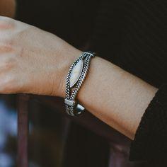 Braided Stone Bracelet