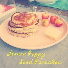 Lemon Poppy Seed Pancakes // The Shortbread Cure