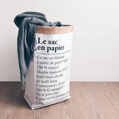 Le sac en papier --> papierbak