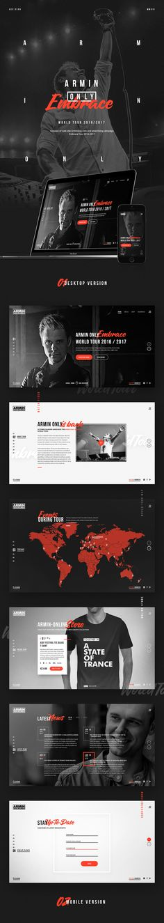 ArminOnly / Redesign Concept on Behance