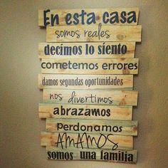 Letreros para pared
