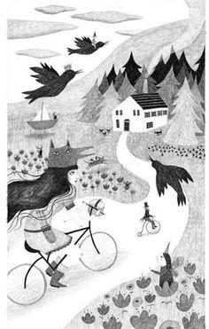 """Ana Sender, For """"La Casita de Wendy"""", Spring-Summer 2012."""