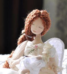 Купить Все мамы - Ангелы! - коричневый, анге, ангел-хранитель, оберег, кукла-оберег, Крестины