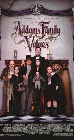 Directed by Barry Sonnenfeld.  With Anjelica Huston, Raul Julia, Christopher Lloyd, Joan Cusack. The Addams Family try to rescue their beloved uncle Fester from his gold-digging new love, a black widow named Debbie.