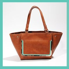 Designer handbags with a hint of mint. 'Like' if you find that refreshing! #fabfound #instalove