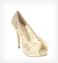 {Bridal Style} Not Your Grandmother's Wedding Shoes