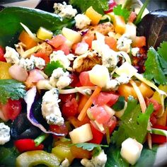 """Chicken Mango Salsa Salad with Chipotle Lime Vinaigrette I """"This is a delightful, delicious recipe that my family was thrilled with. Yummy yummy!"""""""