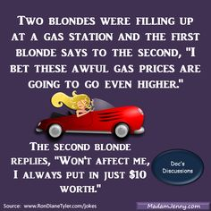 Joke about gas prices and sex