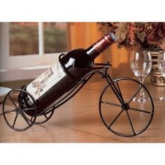 Wine Bottle Holder Tabletop - Bicycle (Kitchen)