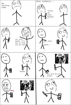 Rage Comics: Trolling the thief?