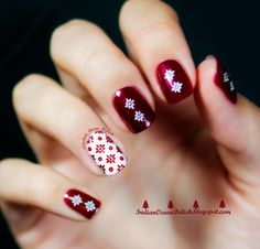 Christmas+Nail+Art+ideas+2013+red+and+white+flowers+Mo+You+Suki+07.jpg (1600×1533)
