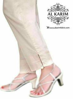Silk Pants, Trouser Pants, Salwar Pattern, Salwar Pants, Modele Hijab, Churidar Designs, Neck Designs For Suits, Pants For Women, Clothes For Women