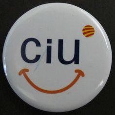 """""""CiU"""". Nou logotip de la coalició de Convergència i Unió (CiU), presentat l'any 2010"""