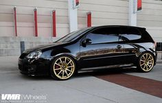 VMR Wheels VW GTI Black V701 19 Custom-Powdercoat 1668