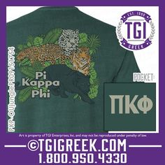 TGI Greek - Pi Kappa Phi - Date Party - Greek T-shirts - Comfort Colors  #tgigreek #pikappaphi #dateparty