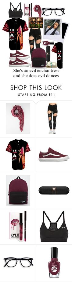 """""""Jersey!!"""" by dollz-n-donz ❤ liked on Polyvore featuring Vans, Beats by Dr. Dre and NIKE"""
