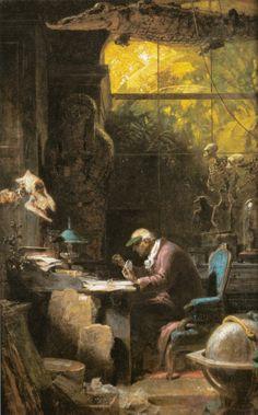 Carl Spitzweg – El Naturalista (1875-1880)
