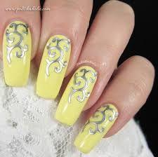 Resultado de imagem para yellow nails design