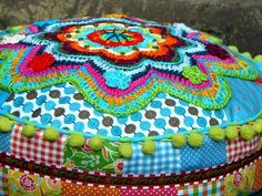 Mooi!!!, i have the Banju-Pattern, very beautiful FlowerPower pillow