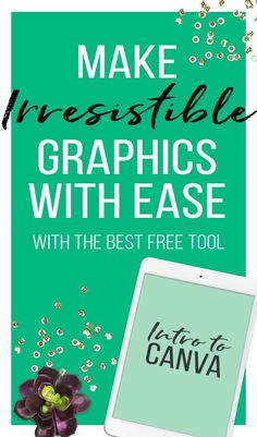 I've created a quick tutorial on getting started with making irresistible graphics with Canva. If you're not a designer, no problem! Web Design, Graphic Design Tools, Tool Design, Media Design, Digital Marketing Strategy, Content Marketing, Marketing Tools, Media Marketing, How To Start A Blog
