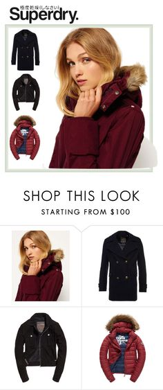 """The Cover Up – Jackets by Superdry: Contest Entry"" by shannonsmilez ❤ liked on Polyvore featuring Superdry and Fuji"