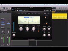 Logic Pro X (10.1) tutorial - Compressor