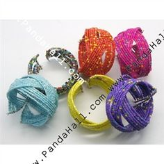Seed Beads Bracelet, Multicolor