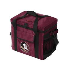 Logo™ Florida State University Glacier 48-Can Cooler (Red Dark, Size ) - NCAA Licensed Product, NCAA Novelty at Academy Sports