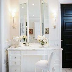 amazing gallery of interior design and decorating ideas of folding vanity mirror in bedrooms closets bathrooms by elite interior designers