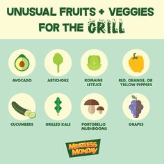 Have you tried grilling any of these fruits and veggies? #MeatlessMonday