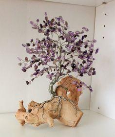 Amethyst dream wire tree by sandrinasartistry on Etsy