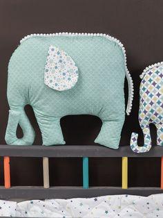 Tutoriel DIY: Coudre un doudou éléphant via DaWanda.com