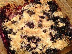 Gluten Free Blueberry Crisp Recipe - Classy Mommy