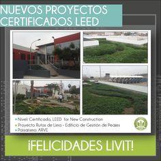 Felicitamos a nuestra empresa miembro #LIVIT por desarrollar y construir el proyecto de Rutas de Lima (Edificio de Gestión de Peajes), el cual obtuvo el nivel de certificación LEED - Certified for New Construction. Así mismo felicitamos a nuestra empresa miembro #ARVE quien realizó el paisajismo del proyecto.  #LEED #Certified #MiembrosPERUGBC