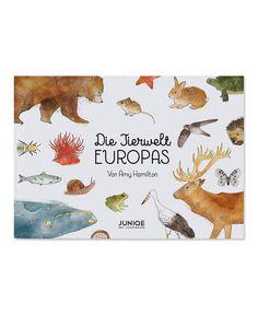 Die Tierwelt Europas - Amy Hamilton - Bilderbuch