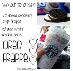 Starbucks Oreo frappe @Kendal Carrillo Carrillo Carrillo H