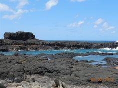 Secret Lava Pools, Kauai, Hawaii September 2013