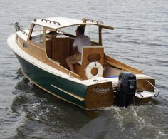 Easy To Build Mullet Skiff Wooden Boat Plans | Fun stuff | Pinterest | Wooden boat plans, Boat ...