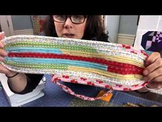 Jelly Roll Rug Kit Jelly Roll Rug Kit! Grab a pattern and custom pick out your favorite Jelly Roll below and we will ship it and batting! If we don't have a Jelly Roll (Rolie Polie 2.5 Inc…