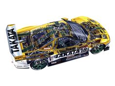 Honda NSX GT500 (NA2) '2002–10
